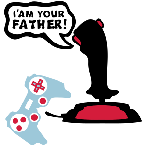 Joystick Videospiel-Joystick paddle4 Ihre