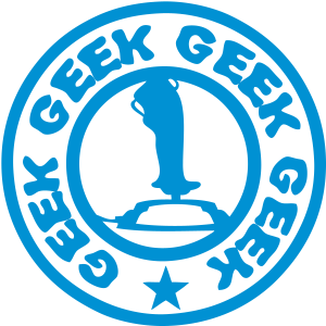 Joystick Videospiel-Steuerknüppel-Aussen Logo