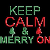 Keep Calm merry on - Tannebaum