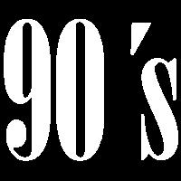 90s Schrift Minimal 90er Retro