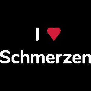 I love Schmerzen (Herz)