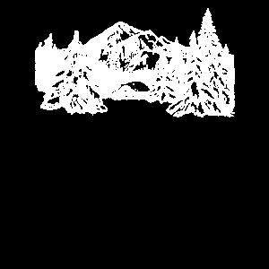 Hütte   Winter Berge Weihnachten Schnee