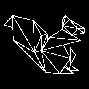 Eichhörnchen geometrisch