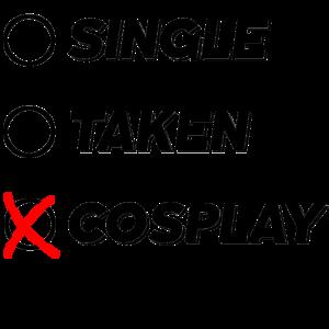 Single Taken Cosplay Anime Comic Manga Geschenk