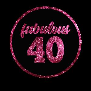 40. Geburstag