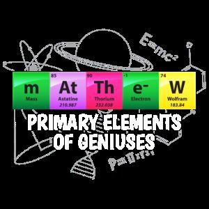 Matthew primäre Elemente der Genies Geschenk