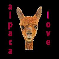Alpaca Alpaka Liebe Tier Geschenk Geschenkidee süß
