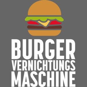 Burger Fanshirt Hamburger Grillen Burgerfreak