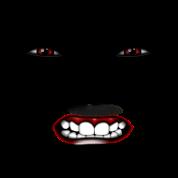 b ses gesicht angry face visage en col re t shirt spreadshirt. Black Bedroom Furniture Sets. Home Design Ideas