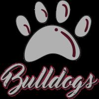 Hund Bulldog Pfote Abdruck