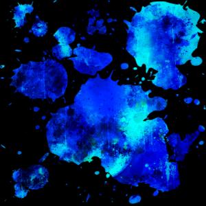 gxp psychedelische Farbe Verlaufsmuster WF blau