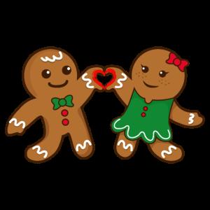 Weihnachten Lebkuchenliebhaber Liebe Herz Geschenk
