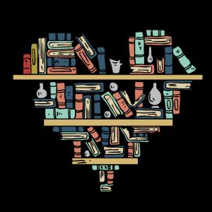 Bücher Herz Symbol Für Personen Die Gerne Lesen