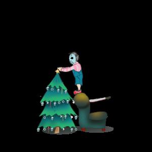 Weihnachtsbaum Weihnachten horrorfilm
