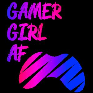 Gaming Gamer Zocker Videospiele Nerd Gamer Girl