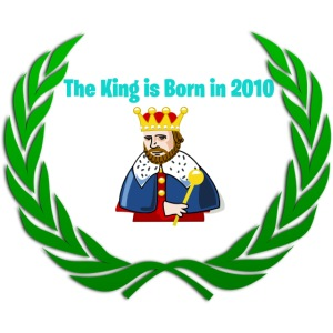 The king is born in 2010