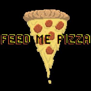 Gamer Nerd Süchtig Zocken Pizza Geschenk Game