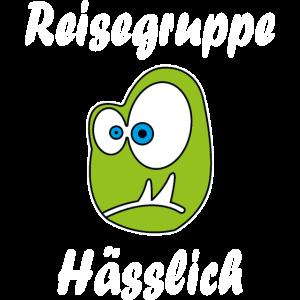 Reisegruppe Haesslich Lustig JGA Freunde Geschenk