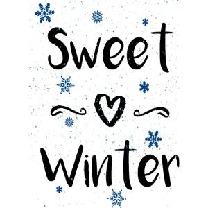 winter süß Geschenk Dezember