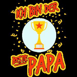 Bester Papa Dad Lieblingspapa Vater Vatertag