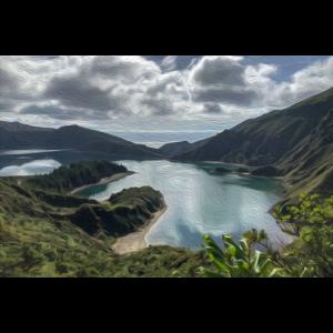 Lagoa do Fogo Azoren São Miguel