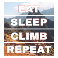 Eat Sleep Climb Machu Picchu - Wiederholung Gift Funny