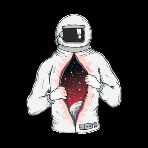 Space Astronaut - Weltall - Universum