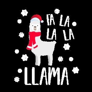 Lama kamel weihnachten weihnachtlich schnee