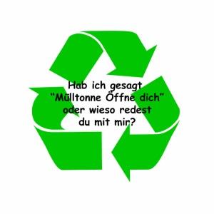 Mülltonne Öffne dich