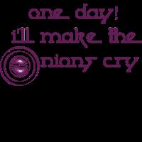 Zwiebel Tränen Weinen Heulen Spruch