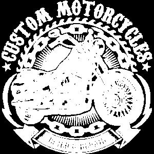 CUSTOM MOTORCYCLES - Weiß