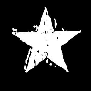 Kunstvoller Stern - fabelhaftes Shirt