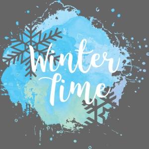 Winterzeit Schneeflocke Weihnachten Geschenk Eis