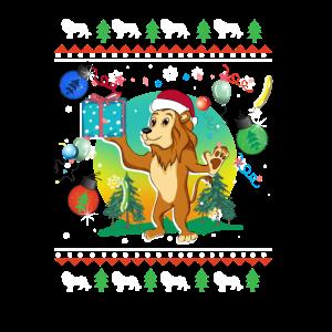 Löwe Weihnachten Weihnachtsgeschenke