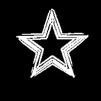 Kunstvoller Stern - grandioses Shirt
