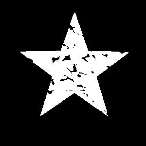 Kunstvoller Stern - großartiges Shirt