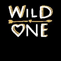 WILD ONE - Heart Herz Design Familien Gift Idea