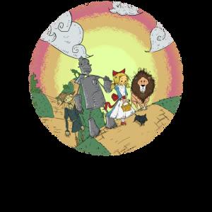 Zauberer von Oz Yellow Brick Road
