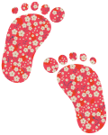 Motif Jolis pieds