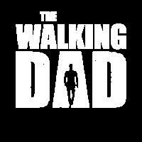 The Walking Dad | Retro Vintage Used Look