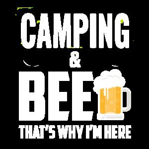 Camping und Bier