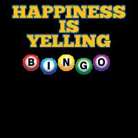 Bingo-lustiges Design - Glück schreit Bingo