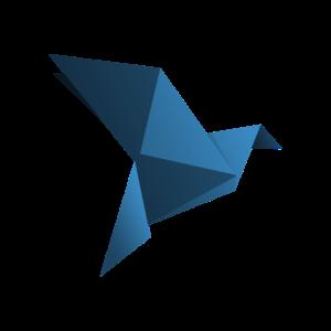 Origami Vogel