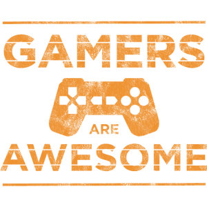 Gamers are Awesome Gamer-Shirt Geschenk