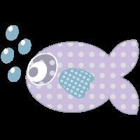 violett Goldfisch