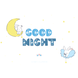 Good Night / Gute Nacht - T-Shirt Print