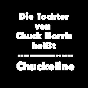 Die Tochter von Chuck Norris heißt Chuckeline.