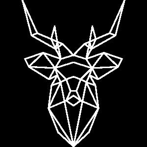hirsch | wild rehbock jäger abstrakt grafik