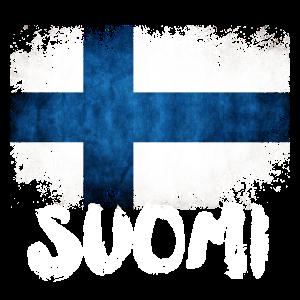 Finnland Suomi Flagge