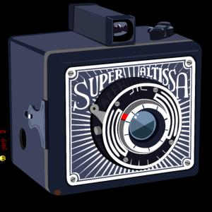 Retro Fotokamera